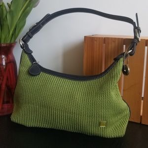 The Sak woven purse, green